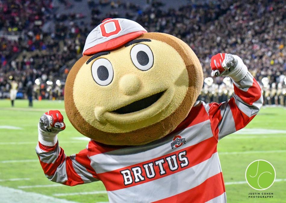 Brutus Buckeye, Mascot of The Ohio State University Athletics