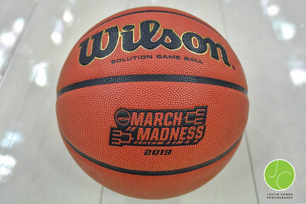 March Madness Basketball used during NCAA Basketball Tournament in Columbus, Ohio