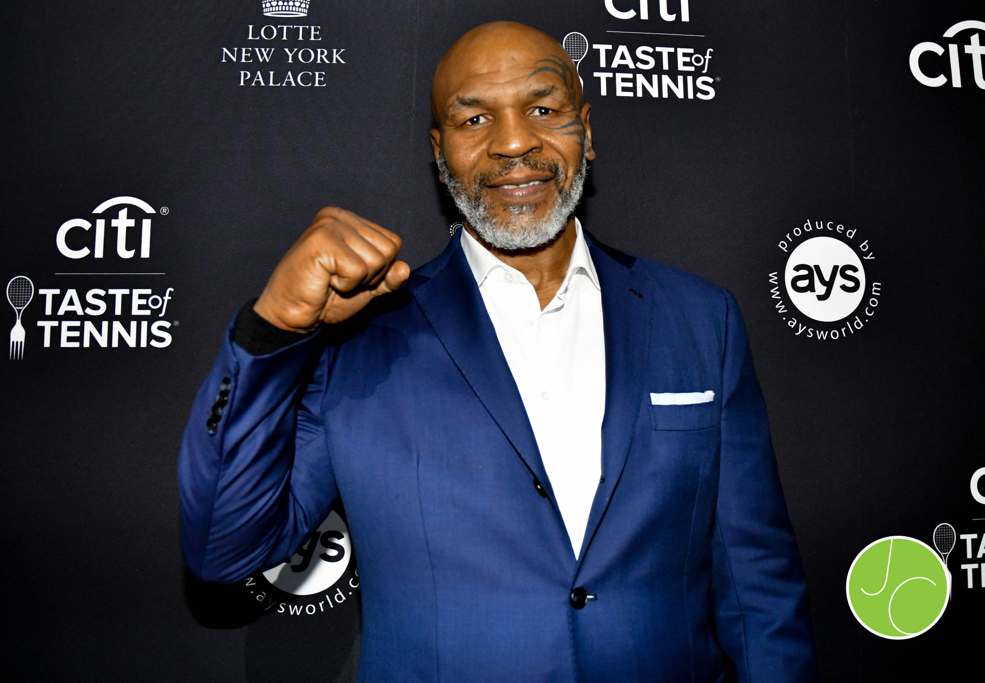 Mike Tyson at the Citi Taste of Tennis New York at Cipriani 42 Street in New York City