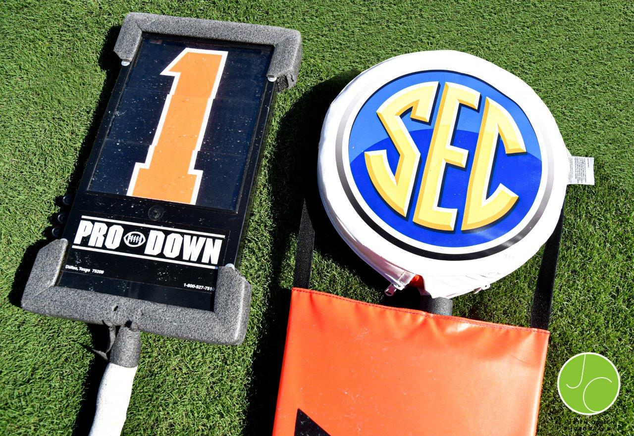 SEC Field Markers Justin Cohen Photography